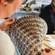 Bespoke lampshades, traditional lampshade making course