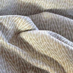 Curtain fabric, herringbone v brown