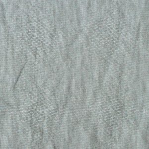 De La Cuona Linen Blue Curtain Fabric