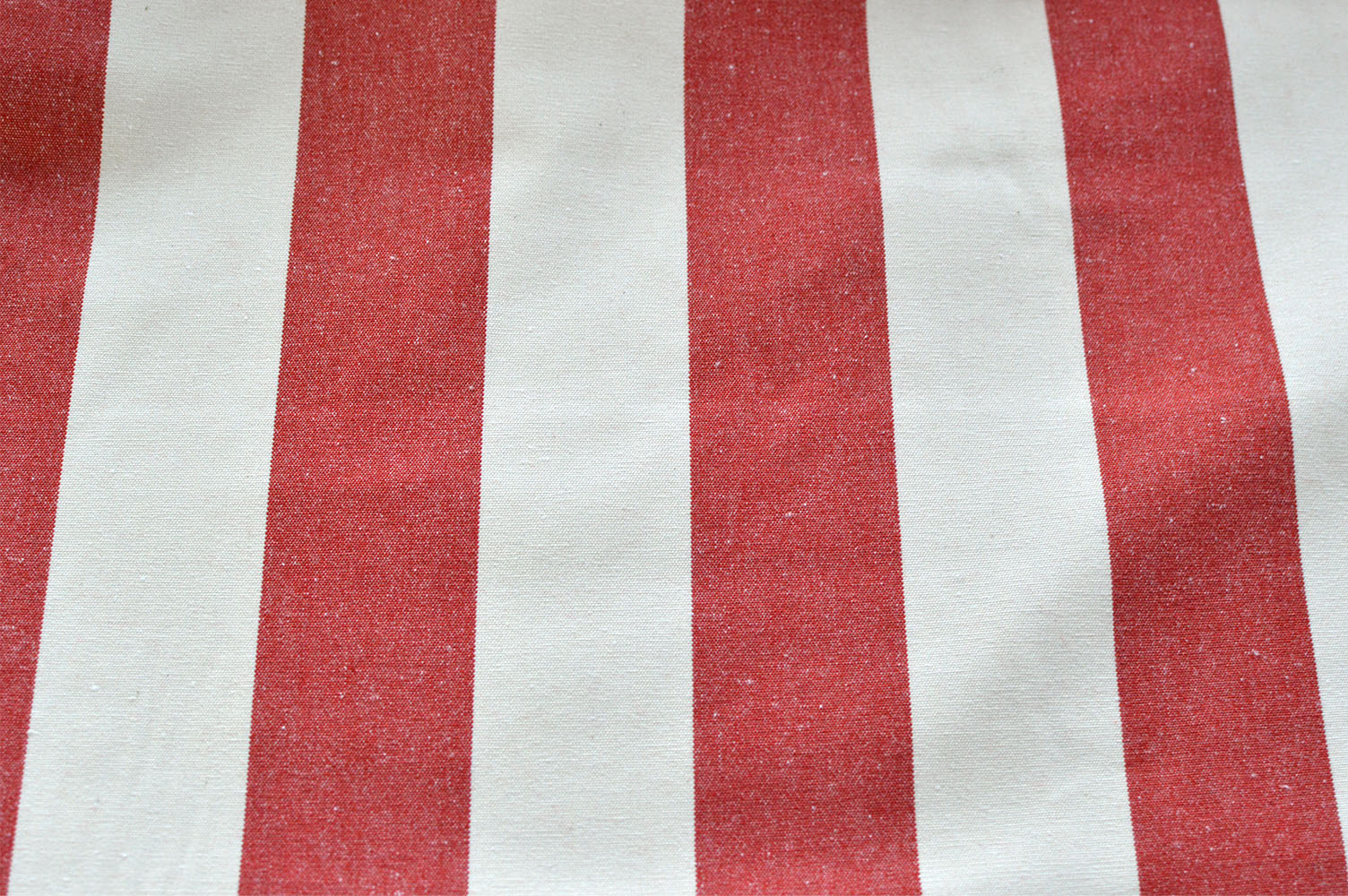 Ian Mankin Red Stripe, Curtain Fabric