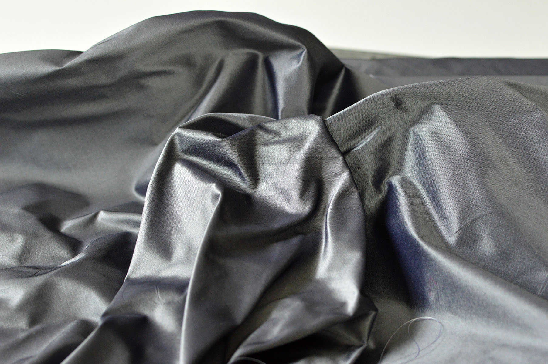 James Hare Grey Silk 1